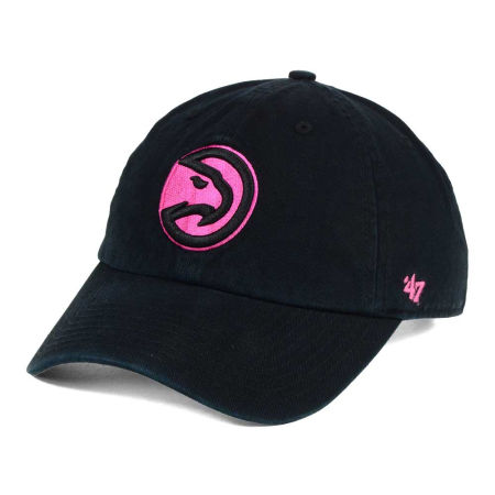 Atlanta Hawks '47 NBA Petal Pink '47 CLEAN UP Cap