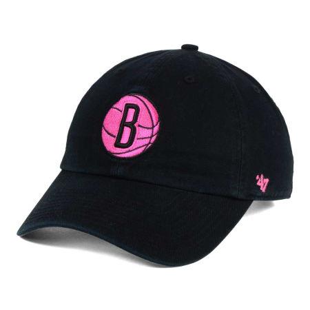 Brooklyn Nets '47 NBA Petal Pink '47 CLEAN UP Cap