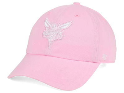 Charlotte Hornets '47 NBA Petal Pink '47 CLEAN UP Cap
