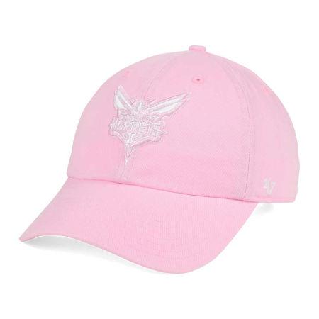 Charlotte Hornets '47 NBA Petal Pink '47 CLEAN UP Cap