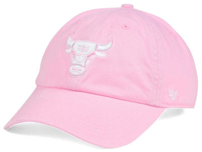 Chicago Bulls '47 NBA Petal Pink '47 CLEAN UP Cap
