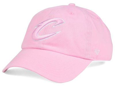 Cleveland Cavaliers '47 NBA Petal Pink '47 CLEAN UP Cap