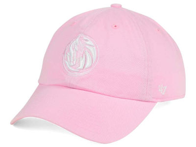 Dallas Mavericks '47 NBA Petal Pink '47 CLEAN UP Cap