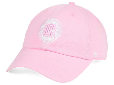 Los Angeles Clippers '47 NBA Petal Pink '47 CLEAN UP Cap