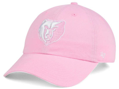 Memphis Grizzlies '47 NBA Petal Pink '47 CLEAN UP Cap