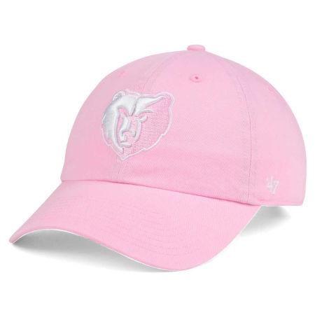 Memphis Grizzlies '47 NBA Petal Pink '47 CLEAN UP Cap