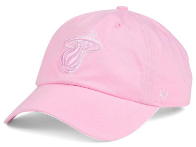 Miami Heat '47 NBA Petal Pink '47 CLEAN UP Cap