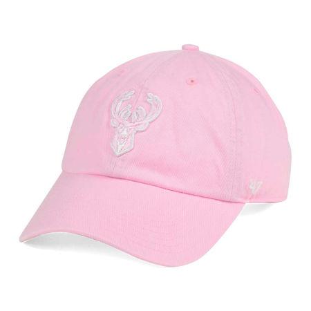 Milwaukee Bucks '47 NBA Petal Pink '47 CLEAN UP Cap