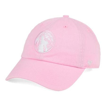 Minnesota Timberwolves '47 NBA Petal Pink '47 CLEAN UP Cap