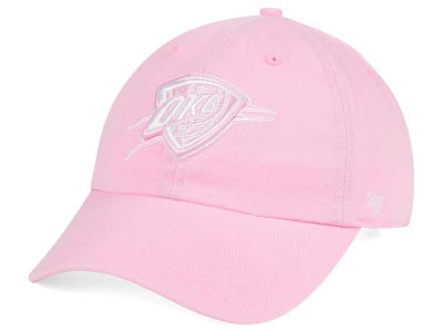 Oklahoma City Thunder '47 NBA Petal Pink '47 CLEAN UP Cap