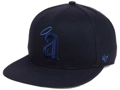 Los Angeles Angels '47 MLB Triple Rush Sure Shot Snapback Cap