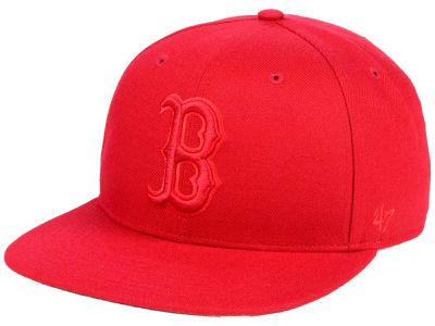 Boston Red Sox '47 MLB Triple Rush Sure Shot Snapback Cap