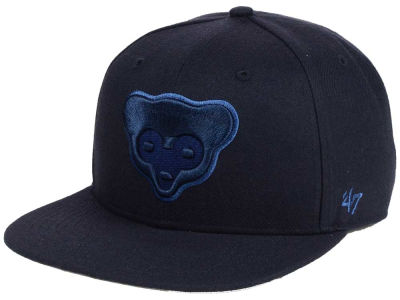 Chicago Cubs '47 MLB Triple Rush Sure Shot Snapback Cap