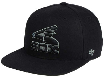 Chicago White Sox '47 MLB Triple Rush Sure Shot Snapback Cap
