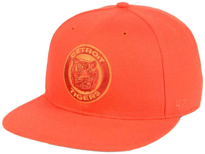 Detroit Tigers '47 MLB Triple Rush Sure Shot Snapback Cap