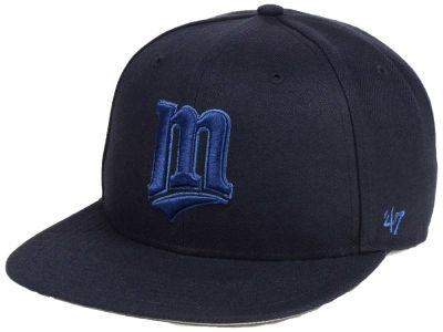 Minnesota Twins '47 MLB Triple Rush Sure Shot Snapback Cap