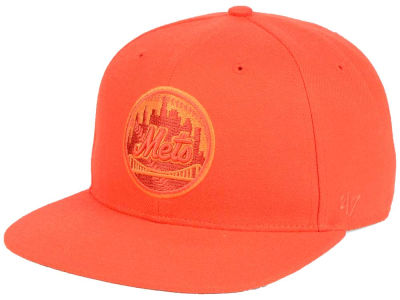 New York Mets '47 MLB Triple Rush Sure Shot Snapback Cap