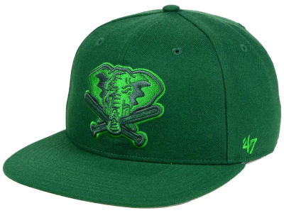 Oakland Athletics '47 MLB Triple Rush Sure Shot Snapback Cap