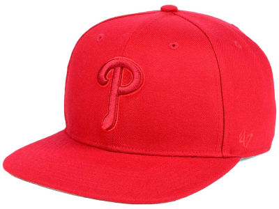 Philadelphia Phillies '47 MLB Triple Rush Sure Shot Snapback Cap