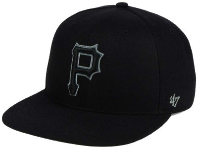 Pittsburgh Pirates '47 MLB Triple Rush Sure Shot Snapback Cap