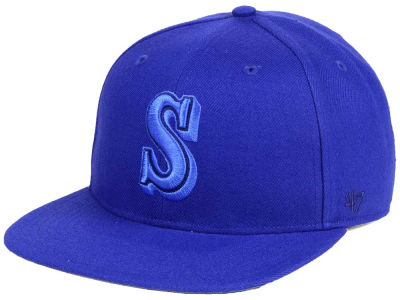 Seattle Mariners '47 MLB Triple Rush Sure Shot Snapback Cap