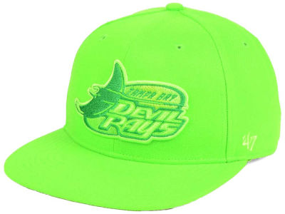 Tampa Bay Rays '47 MLB Triple Rush Sure Shot Snapback Cap
