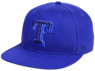 Texas Rangers '47 MLB Triple Rush Sure Shot Snapback Cap