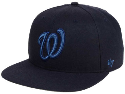 Washington Nationals '47 MLB Triple Rush Sure Shot Snapback Cap