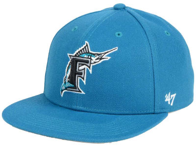 Florida Marlins '47 MLB Sure Shot '47 Snapback Cap