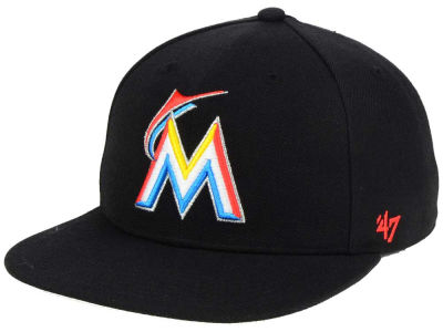 Miami Marlins '47 MLB Sure Shot '47 Snapback Cap