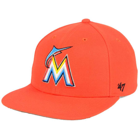 Miami Marlins '47 MLB Sure Shot '47 Snapback Cap