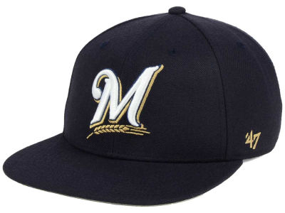 Milwaukee Brewers '47 MLB Sure Shot '47 Snapback Cap