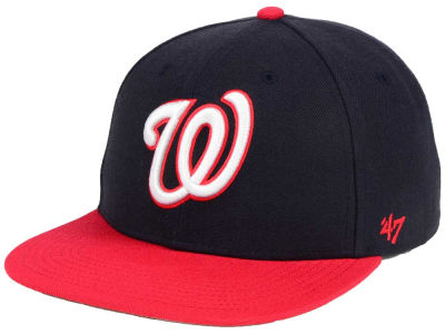 Washington Nationals '47 MLB Sure Shot '47 Snapback Cap