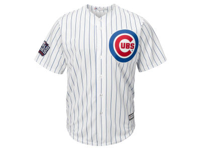 Chicago Cubs MLB Men's 2016 World Series Patch Replica Cool Base Jersey