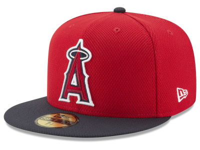 Los Angeles Angels New Era MLB Batting Practice Diamond Era 59FIFTY Cap