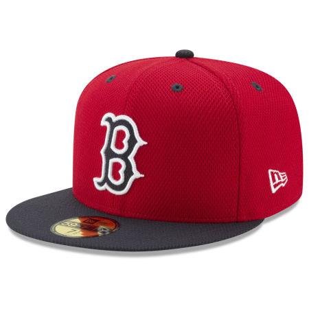 Boston Red Sox New Era MLB Batting Practice Diamond Era 59FIFTY Cap