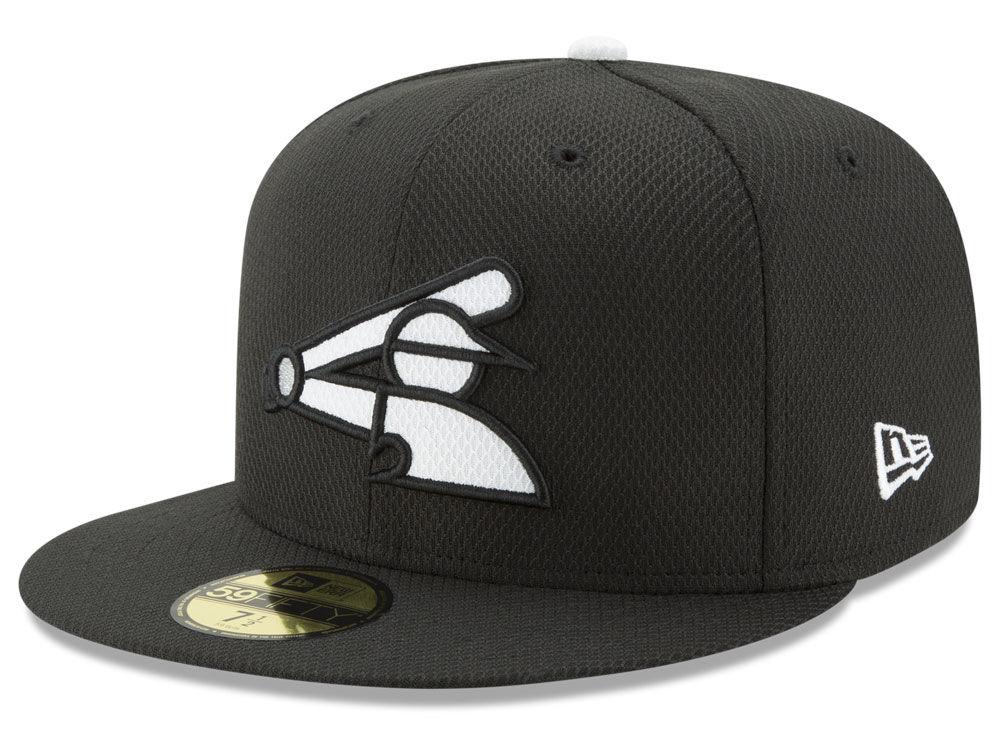 Chicago White Sox New Era MLB Batting Practice Diamond Era 59FIFTY Cap  0c2c14141b