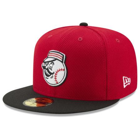 Cincinnati Reds New Era MLB Batting Practice Diamond Era 59FIFTY Cap
