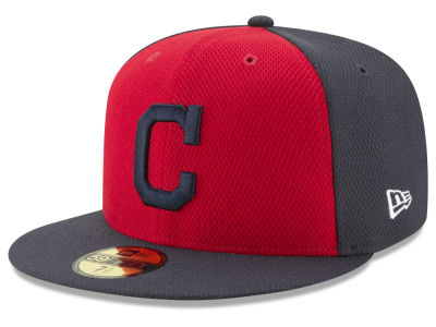 Cleveland Indians New Era MLB Batting Practice Diamond Era 59FIFTY Cap