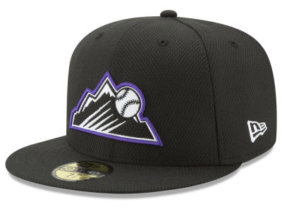 Colorado Rockies New Era MLB Batting Practice Diamond Era 59FIFTY Cap