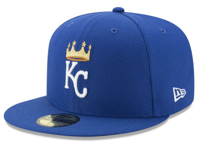 Kansas City Royals New Era MLB Batting Practice Diamond Era 59FIFTY Cap
