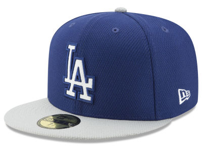 Los Angeles Dodgers New Era MLB Batting Practice Diamond Era 59FIFTY Cap