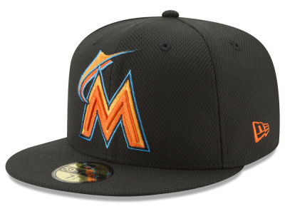 Miami Marlins New Era MLB Batting Practice Diamond Era 59FIFTY Cap