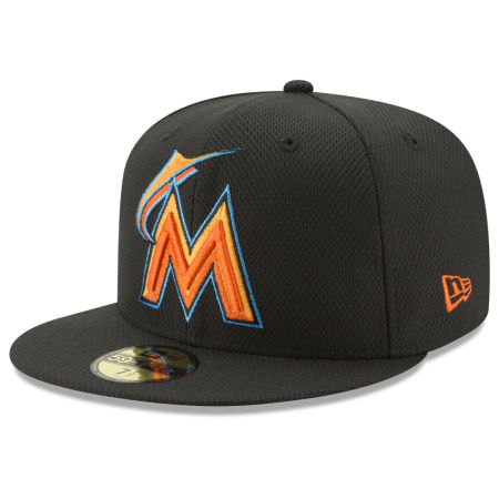 Miami Marlins New Era MLB Batting Practice Diamond Era 59FIFTY Cap
