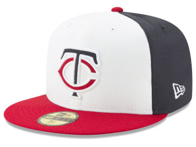 Minnesota Twins New Era MLB Batting Practice Diamond Era 59FIFTY Cap