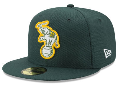Oakland Athletics New Era MLB Batting Practice Diamond Era 59FIFTY Cap