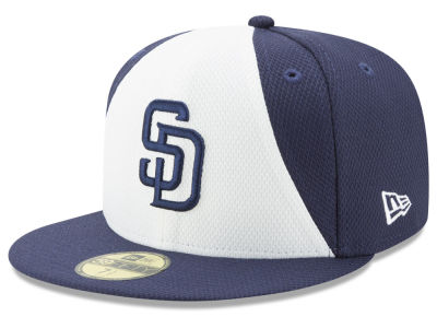 San Diego Padres New Era MLB Batting Practice Diamond Era 59FIFTY Cap