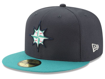 Seattle Mariners New Era MLB Batting Practice Diamond Era 59FIFTY Cap