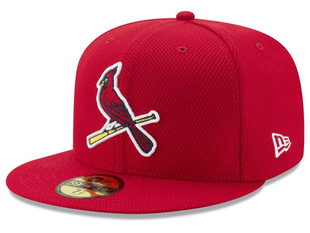 St. Louis Cardinals New Era MLB Batting Practice Diamond Era 59FIFTY Cap  93e999e0a5cf
