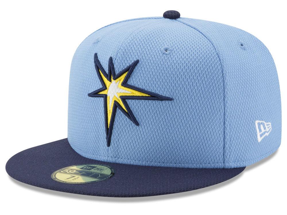 Tampa Bay Rays New Era MLB Batting Practice Diamond Era 59FIFTY Cap ... 69496000581